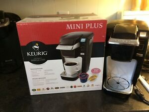 Mini plus keurig.