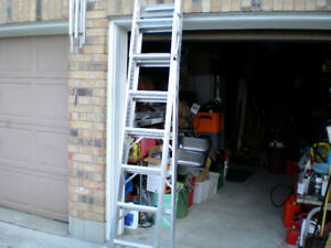 8 FT STEP/EXTENSION LADDER BY CLAM
