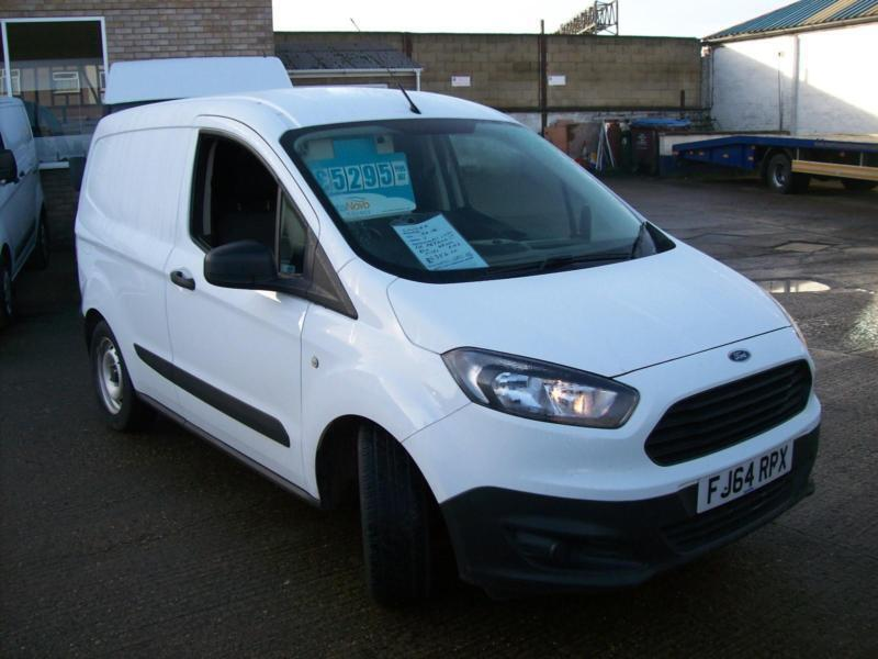 a83b8dbe1aa862 2014(64) FORD TRANSIT COURIER VAN