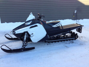 2014 PRO RMK 600 With Sled deck and Sleigh