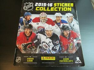 2015-16 Panini Hockey Stickers