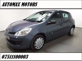 Renault Clio 1.2 16v Expression 5dr, NEW CLUTCH FITTED AT 75000 , 6 MONTHS FREE WARRANTY , 1 OWNER