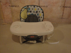 Fisher Price Space Saver High Chair - Pear - Lightly Used