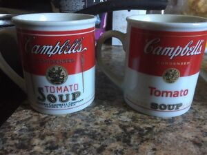Campbell soup  company soup company collectable mugs Kitchener / Waterloo Kitchener Area image 1