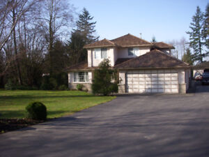 4 bedroom executive home in Clayton Heights on acreage