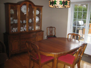 French provincial dinning room suite
