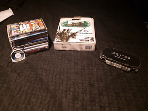 PSP MGS: Peace Walker Limited Edition + 10 jeux + case