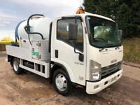 2011 11 ISUZU N75.190 Euro 5 portable toilet tanker, jet wash,