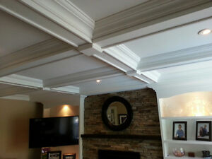 Baseboards,Casing,Trim,Wainscoting,Crown Moulding,Ceiling Beams Cambridge Kitchener Area image 4
