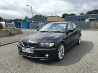 2003 03 BMW 330d M SPORT TOP OF THE RANGE FULL HISTORY LEATHERS FACELIFT MODEL FULL MOT BARGAIN