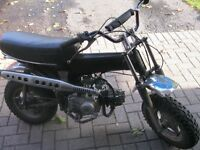 1978 honda ct70 3 speed auto new motor built to 1978 spect