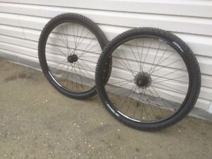 OBO 29er rims with newish rubber