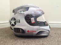 Motorcycle Helmet (Size Large)