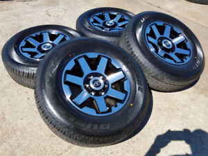 2018 Toyota 4Runner Trail edition TRD wheels and tires