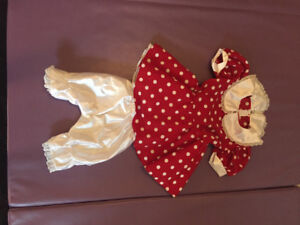 Minnie Mouse Costume for 3-4 year old girl