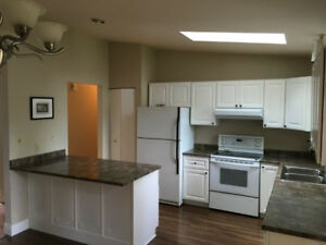 3 bdr + den, 1 bath,  Langford downtown duplex, available May1st