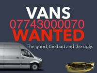 Cash for all scrap cars and vans in Huddersfield cash waiting