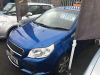 Chevrolet Aveo 1.2 LS Blue MOT Warranty Finance Hatchback