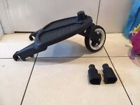 Bugaboo Buggy board with adapters -REDUCED