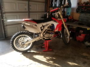 Mint 2014 crf450r *2 stoke trade