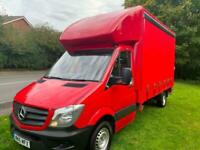 Mercedes Sprinter 313Cdi 3.5t.13ft 6in (4m) Curtainside, Tail Lift, Only 32000m