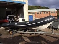 VALIANT V520 SPORTS RIB 75HP MERCURY OPTIMAX