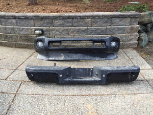 Front and rear bumpers for 2014 Ford F350 $500 or OBO