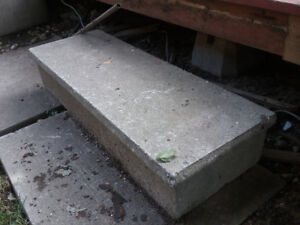 Concrete Step......FREE