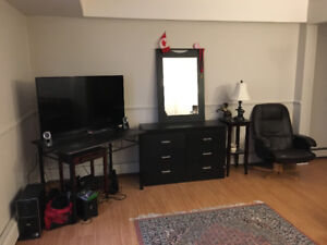 Large bachelor in south end for sublet