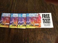 Harrow Festival Tickets