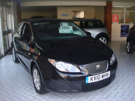 Seat Ibiza 1.4TDI 80 +DPF SportCoupe 2009MY Ecomotive GUARANTEED CAR FINANCE