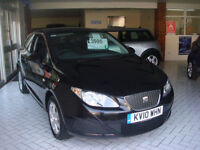 Seat Ibiza 1.4TDI 80 +DPF SportCoupe 2009MY Ecomotive GUARANTEED CAR FINANCE