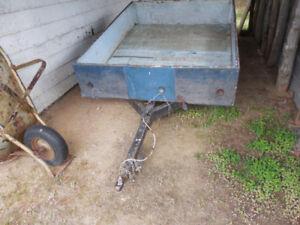 Utility Trailer used for golf cart + Wheelbarrow