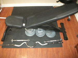 Northern Lights Incline /Decline bench FREE $120 for the iron