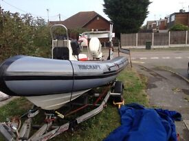 Rib boat reasonable offers considered