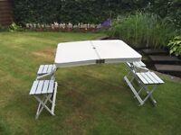 Caravan camping picnic table