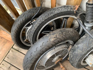 Ebike tires, all 4 for $50 or best offer
