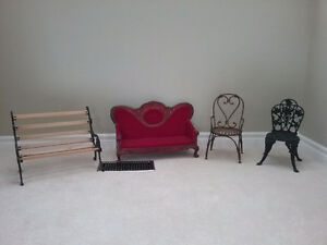 Teddy Bear/Doll Benches & Chairs