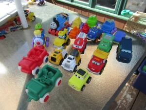 CARS AND TRUCKS (4 LOTS) - TODDLER STYLE - REDUCED!!!!