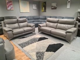 Brand new Furniture willage 3+2 seater power recliner