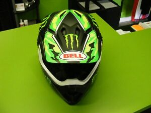 BELL - Pro Circut - MX-9 - Monster Energy all Sizes at RE-GEAR Kingston Kingston Area image 2