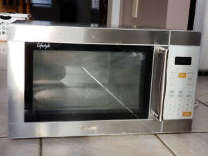 Free Sanyo Stainless Steel Inside Out Microwave