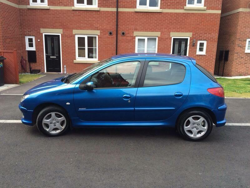 2005 55 peugeot 206 1 4 sport blue 5 door in sheffield south yorkshire gumtree. Black Bedroom Furniture Sets. Home Design Ideas
