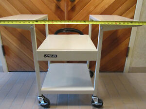 Used Apollo Multi-purpose/printer cart w/ electric outlets