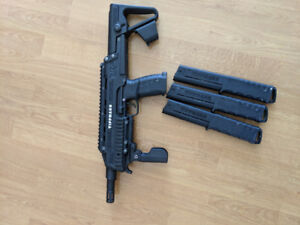 Tippman TCR and 3 12round mags for sale