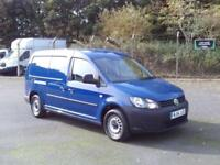 Volkswagen Caddy Maxi 1.6 Tdi 102Ps Startline Van DIESEL MANUAL BLUE (2014)
