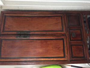 Armoire/ storage cabinet - teak antique inspired