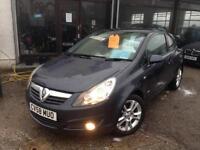 2008 (58) Vauxhall Corsa 1.4i 16v (a/c) SXi **48,000 miles** (Finance Available)