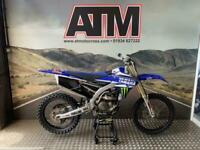 YAMAHA YZF250 2017 MOTOCROSS BIKE, NEW DECALS, TIDY BIKE (ATMOTORCYCLES)