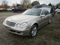 PARTING OUT 2003 MERCEDES E500